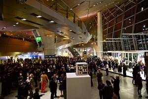 『iF Design Award2012』の授与式会場写真