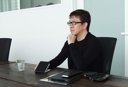 co-lab二子玉川クリエイター・磯村歩さん(モビリティデザイナー)写真