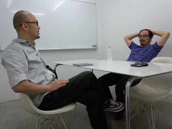 写真:#08 co-labスペシャル対談「創設メンバーが10周年を振り返る」田中陽明(co-lab)×長岡勉(POINT)